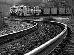 Lines and Leading Lines Railroad Example